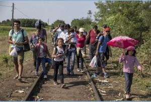 Ima a bevándorlókért